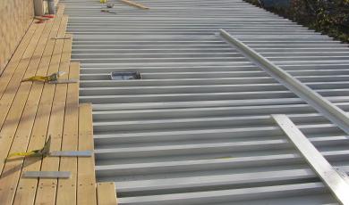 Terrasse en bois - Comment rendre une terrasse etanche ...