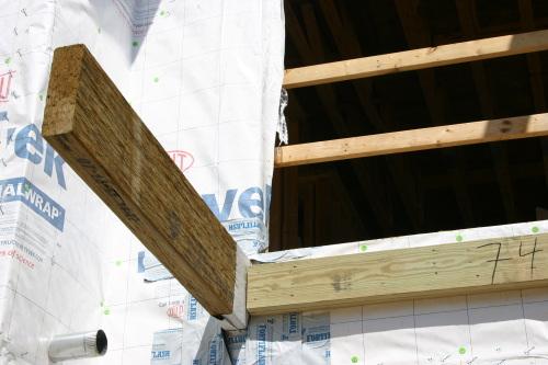 Balcon tanche industrialis immeuble ossature bois - Balcon en bois ...