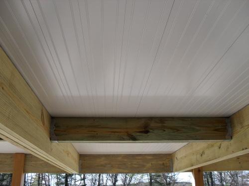 Construire terrasse en hauteur sur pilotis for Plafond terrasse