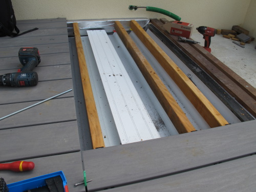 Construction terrasse étanche