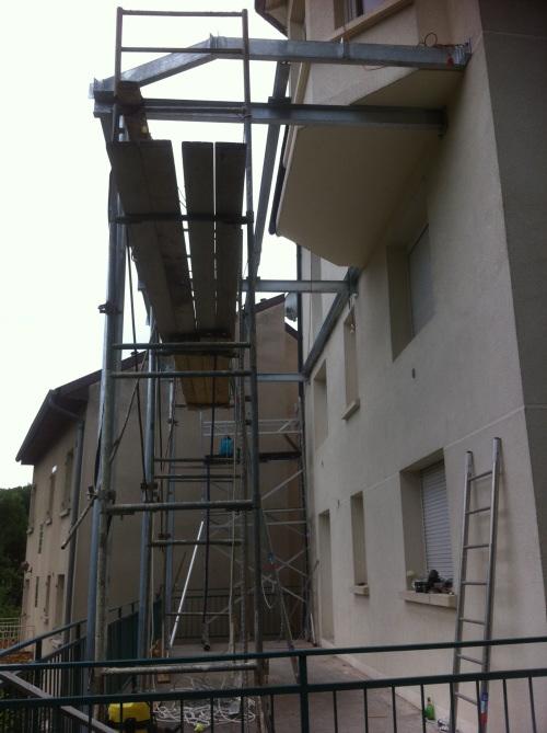 Terrasse tanche sur structure en acier - Dip etanche terrasse et balcon ...