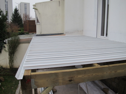 Rendre Une Terrasse Etanche  Poser Une Terrasse Bois Sur Une