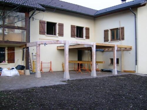 Photo 1  Voici la terrasse réalisée par un de nos clients
