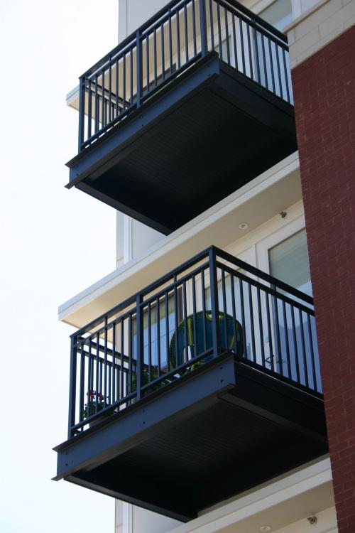 balcon tanche industrialis immeuble ossature bois. Black Bedroom Furniture Sets. Home Design Ideas